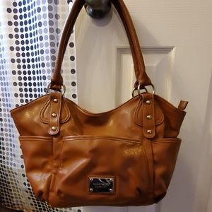 Camel Brown Nine West handbag